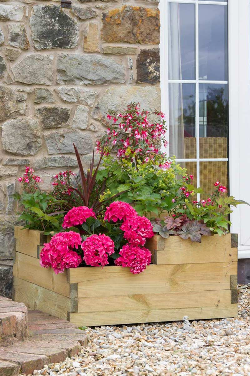3 Tiered Raised Bed