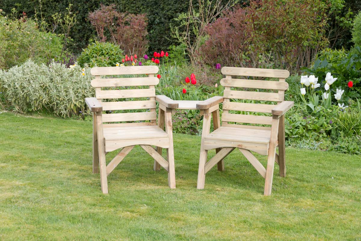 Wooden Garden Furniture and Garden Sets  Zest 10 Leisure Direct