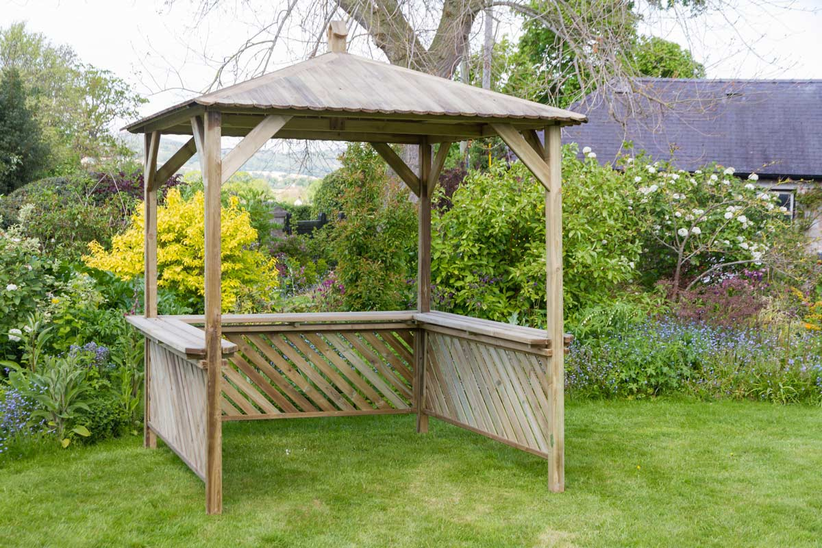Broxton Gazebo Garden Gazebo Zest 4 Leisure Direct