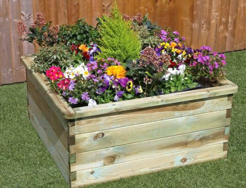 Sleeper Raised Bed