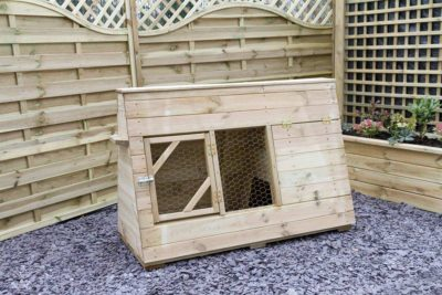 Outdoor Chicken Starter Coop