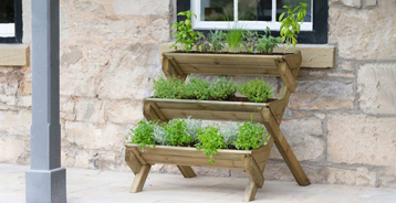 Stepped Herb Planter