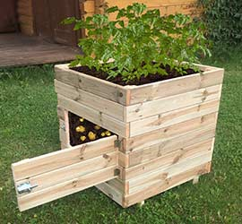 Grow your own potatoes Square Potato Planter