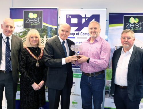 "Lord Barry Jones Award: Steve Morgan recognised for ""outstanding work"""